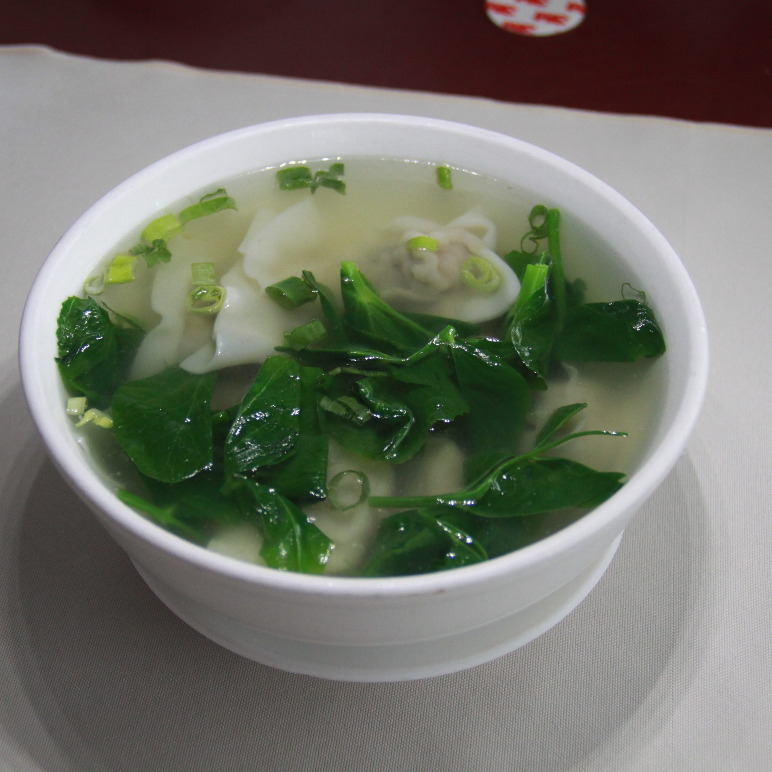 Wonton Soup in Shanghai Style