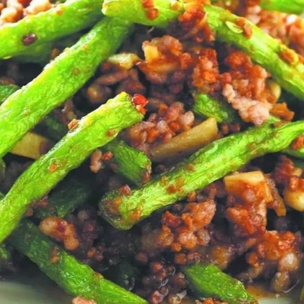 String Beans w/ Minced Pork