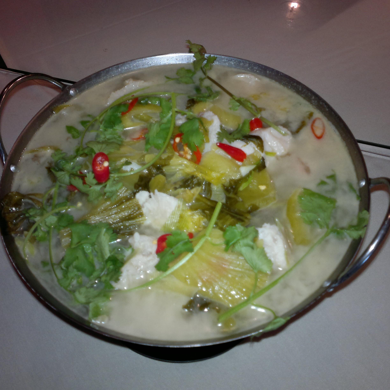 Fish Filet w/ Sour Vegetable