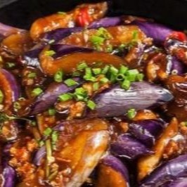 Hot Pot Eggplants