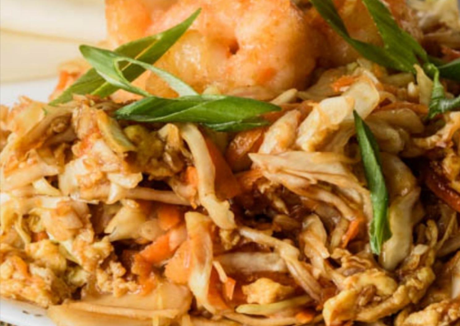 Moo-shu Shrimps