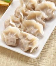 Boiled Pork Chive Dumplings (8)