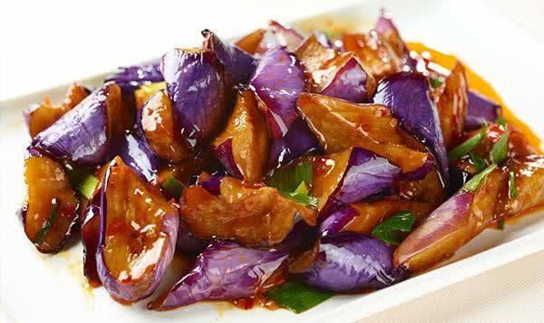 Red Braised Eggplant (Pork)