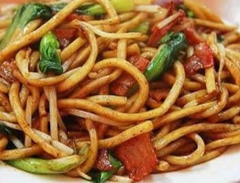 Shanghai Noodles w/ Vegetables