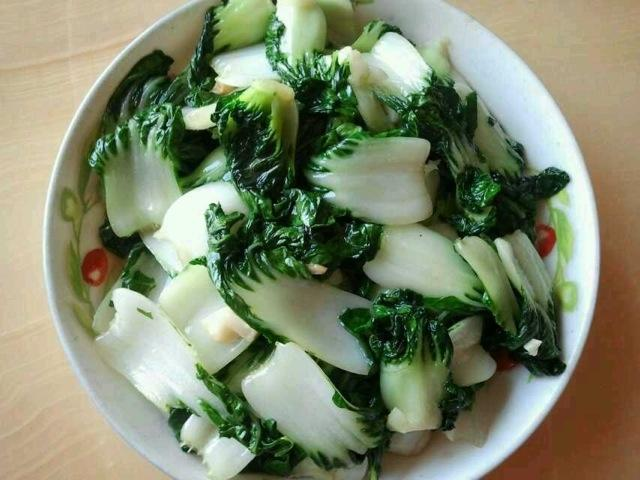 Baby Pok Choy (Garlic / Plain)