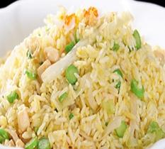Chicken Fried Rice w/ Garlic