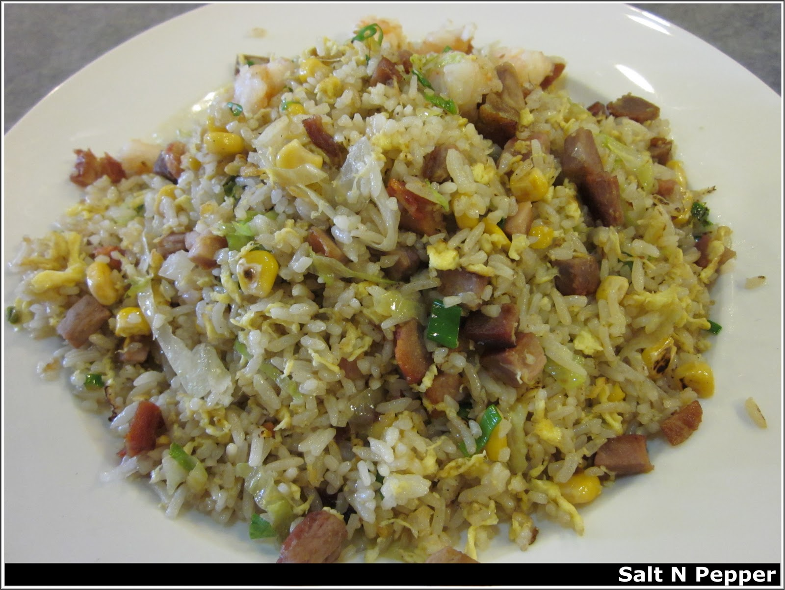 Fried Rice with Duck Meat