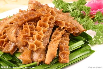 Spicy Ox Tripe