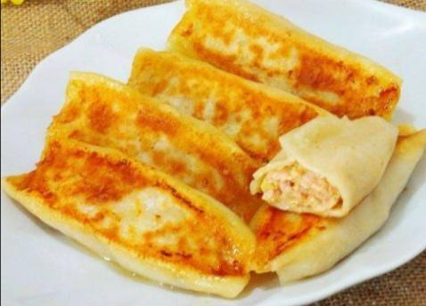 Pan Fried Pork Dumplings(5)